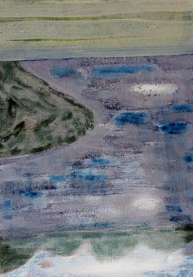 Gordon Dalton, Sometimes I Just Want To Go Home, acrylic on canvas, 2015 (artist website)